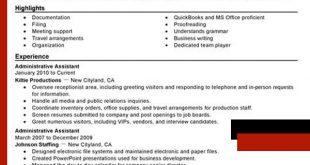 Resume Format Highlighting Skills