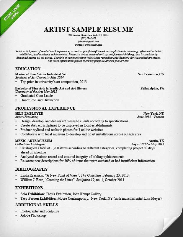 resume format vfx freshers