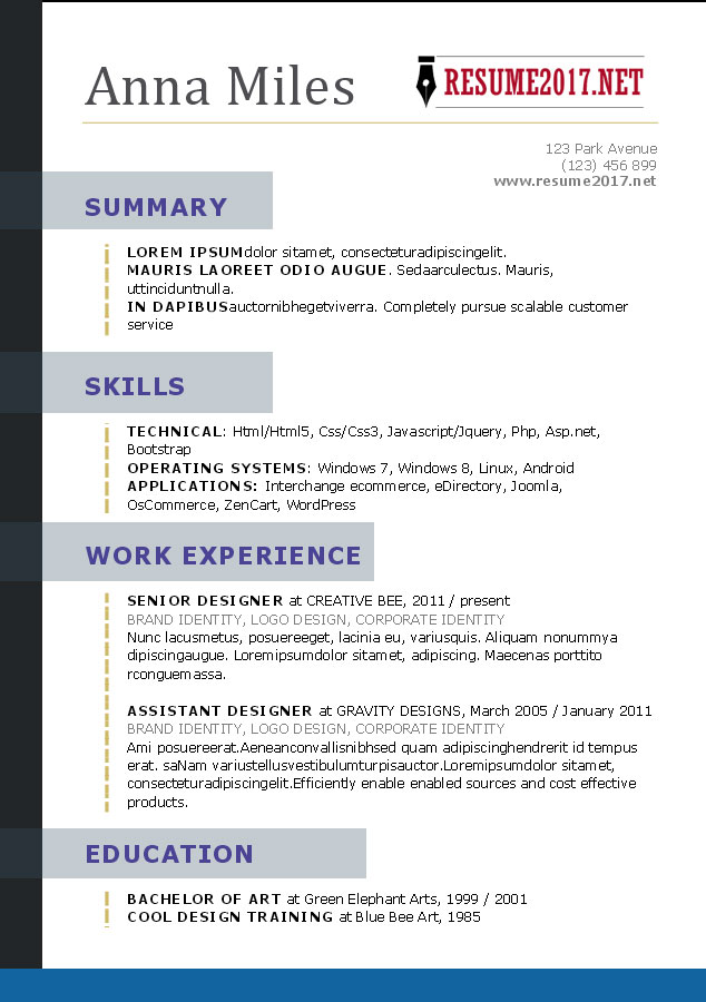 Images Of Resume Format