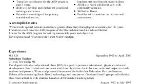 Resume Format Yale