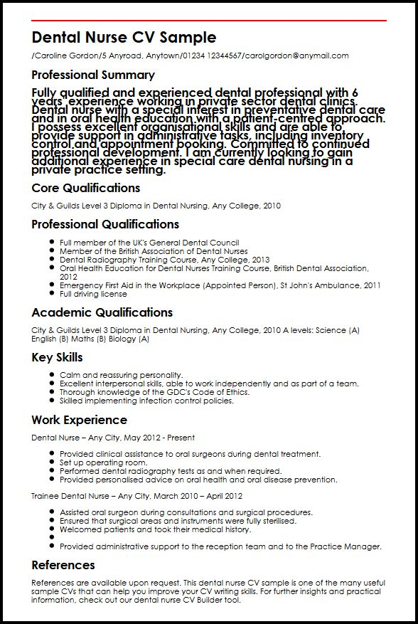 resume templates united kingdom