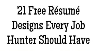 Resume Templates Buzzfeed