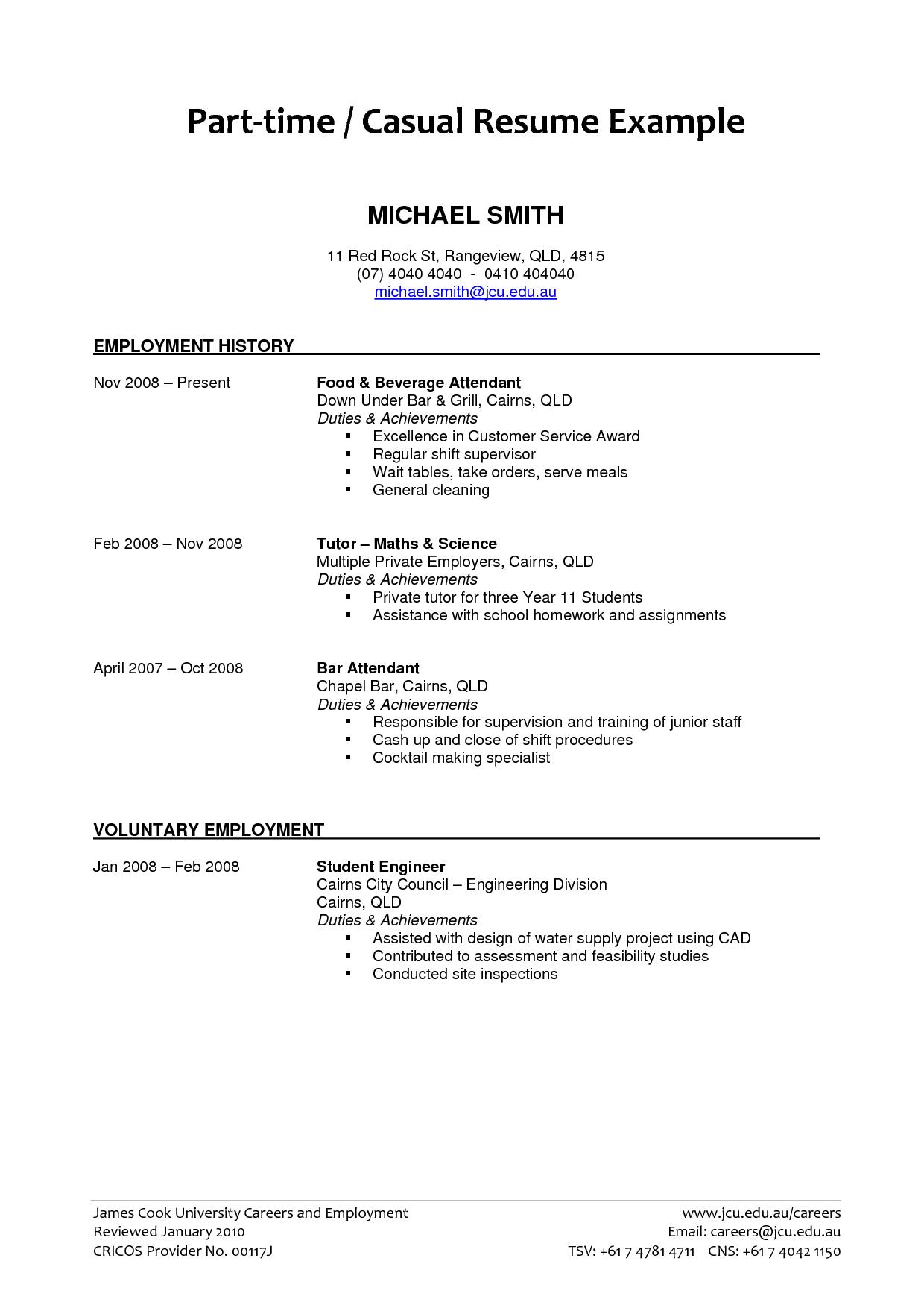 Professional resume writers qld
