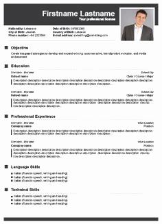 Resume Templates Builder Resume Templates
