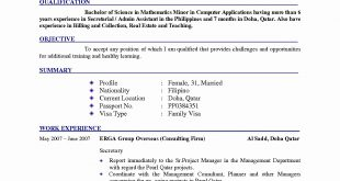 Resume Format New