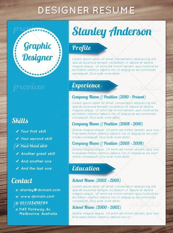 Resume Format Design Resume Templates