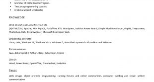 Free Resume Templates Windows 7