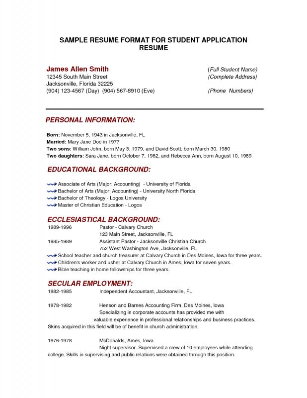 resume format checker