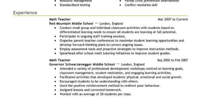 Resume Templates Education